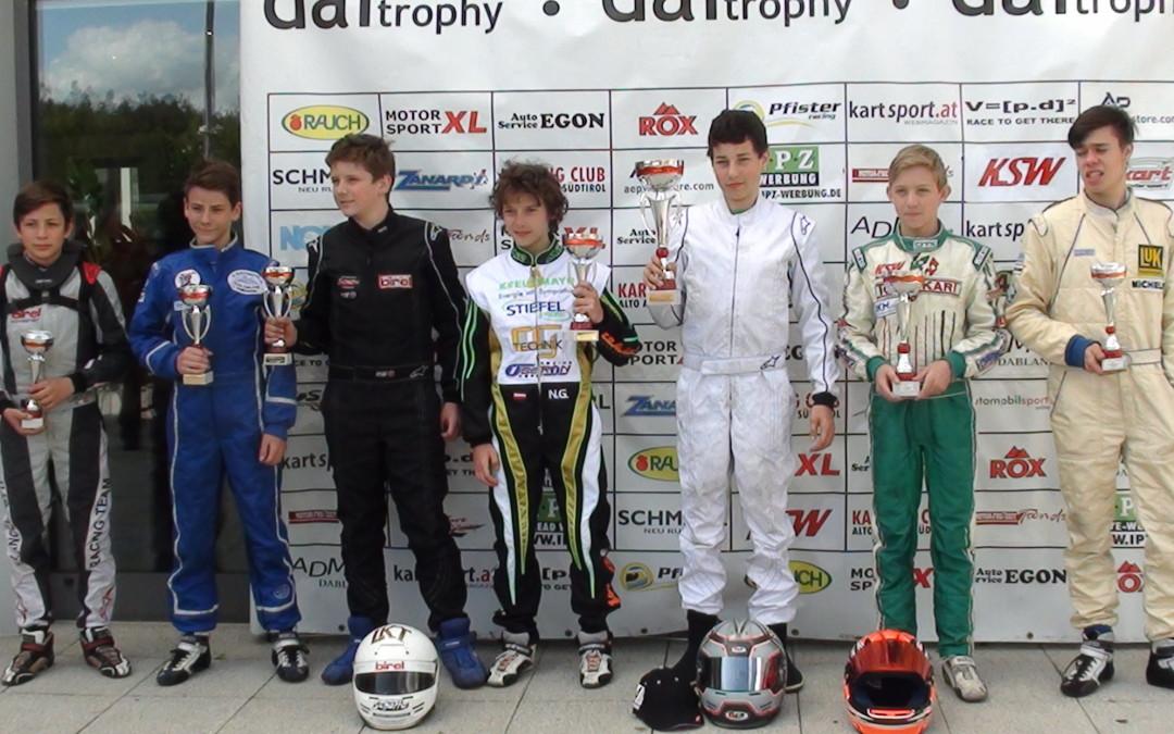 DAI-Trophy in Wackersdorf – Platz 1 für Benjamin